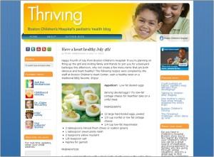 boston children's hospital blogs