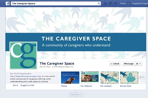 Caregiver Space Facebook Page