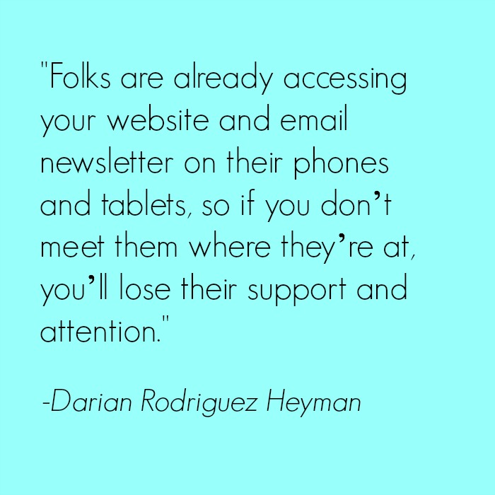 Mobile marketing strategy for nonprofits: Q&A with Darian Rodriguez Heyman