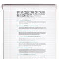 Event collateral checklist for nonprofits (part 2)