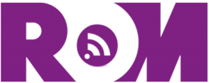 ROMcast logo